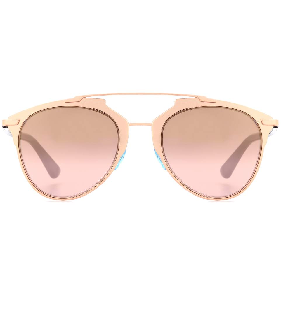 64b9ce407522 Dior Reflected Aviator Sunglasses In Gold