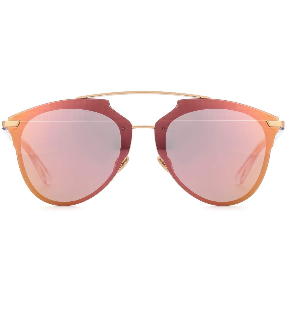 51693a4eb50f Dior Reflected Aviator Sunglasses In Pink