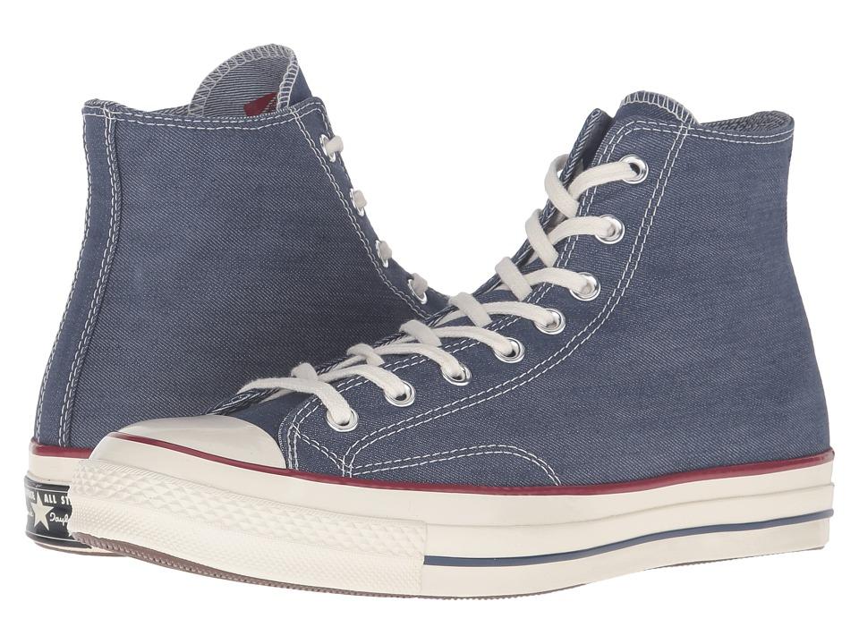 a582537d081b Converse - Chuck Taylor(R) All Star(R)  70 Denim Hi (Insignia Blue ...