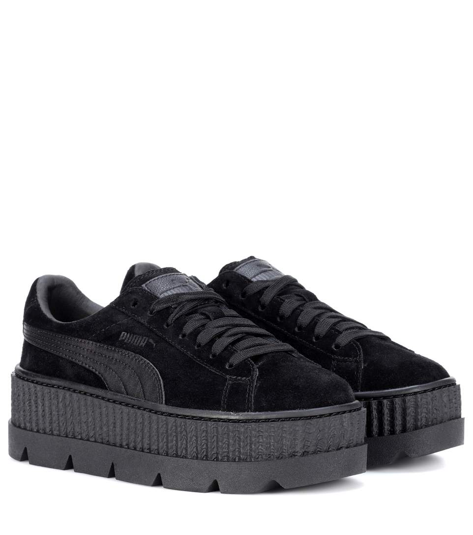 puma cleated creeper suede