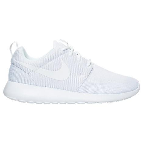 2fa668774c7d3 Nike Women s Roshe One Casual Sneakers From Finish Line In White White-Pure  Platinum