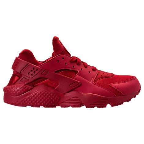 d7949b24fddd Nike Men s Air Huarache Run Casual Sneakers From Finish Line In Red ...