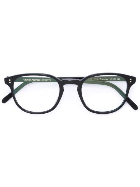 fe6ed8c78af Oliver Peoples  Fairmont  Glasses - Black. Farfetch