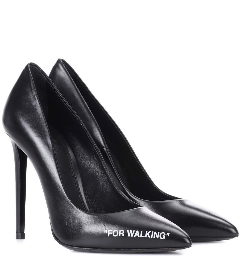 b05cc1ef16ca Off-White Black For Walking Stiletto Pumps