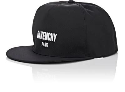 cee83974f50 Givenchy Logo Canvas Baseball Cap - Black