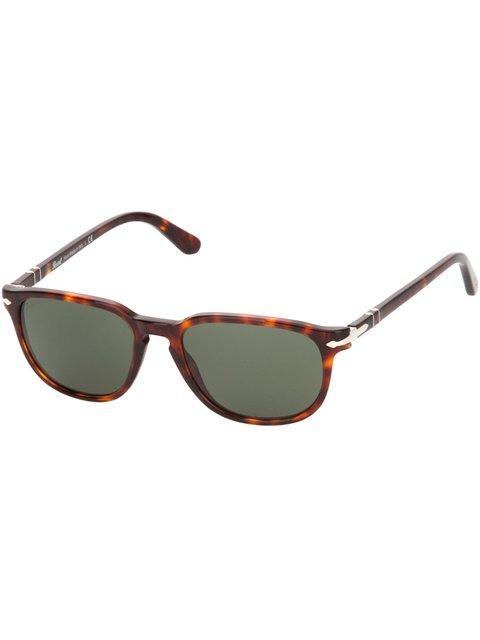 b161573b8c77 Persol Rectangular Frame Sunglasses - Brown   ModeSens