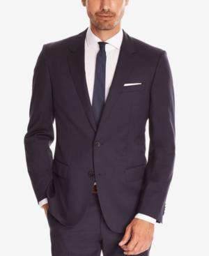 3a57301a5 Hugo Boss Boss Men's Slim-Fit Super 120 Italian Virgin Wool Sport Coat In  Navy