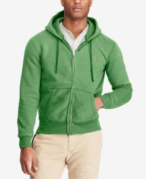 Yogurt Contadino Denuncia  Polo Ralph Lauren Men's Full-zip Hoodie In Verona Green | ModeSens