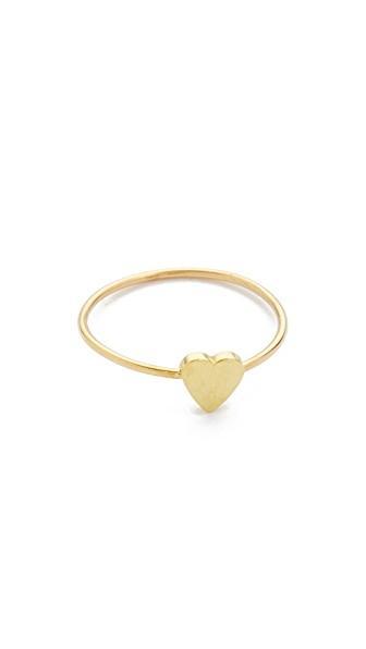 964aae03740afa Jennifer Meyer Jewelry 18K Gold Mini Heart Ring   ModeSens