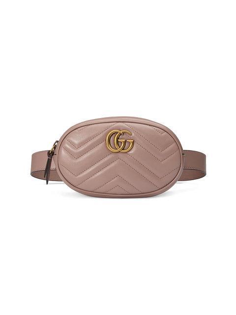 9edc606e8c3 Gucci Gg Marmont 2.0 Matelasse Leather Belt Bag - Beige In 5729 Beige