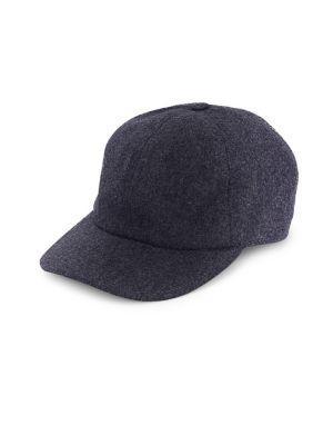 7473c50f3973e Brunello Cucinelli Wool Felt Baseball Cap In Blue