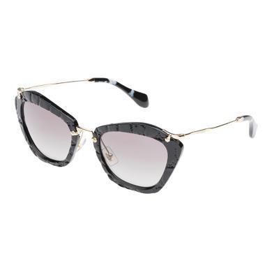 ea8c31b8c69 Miu Miu Noir Eyewear With Satin In Gradient Gray Lenses