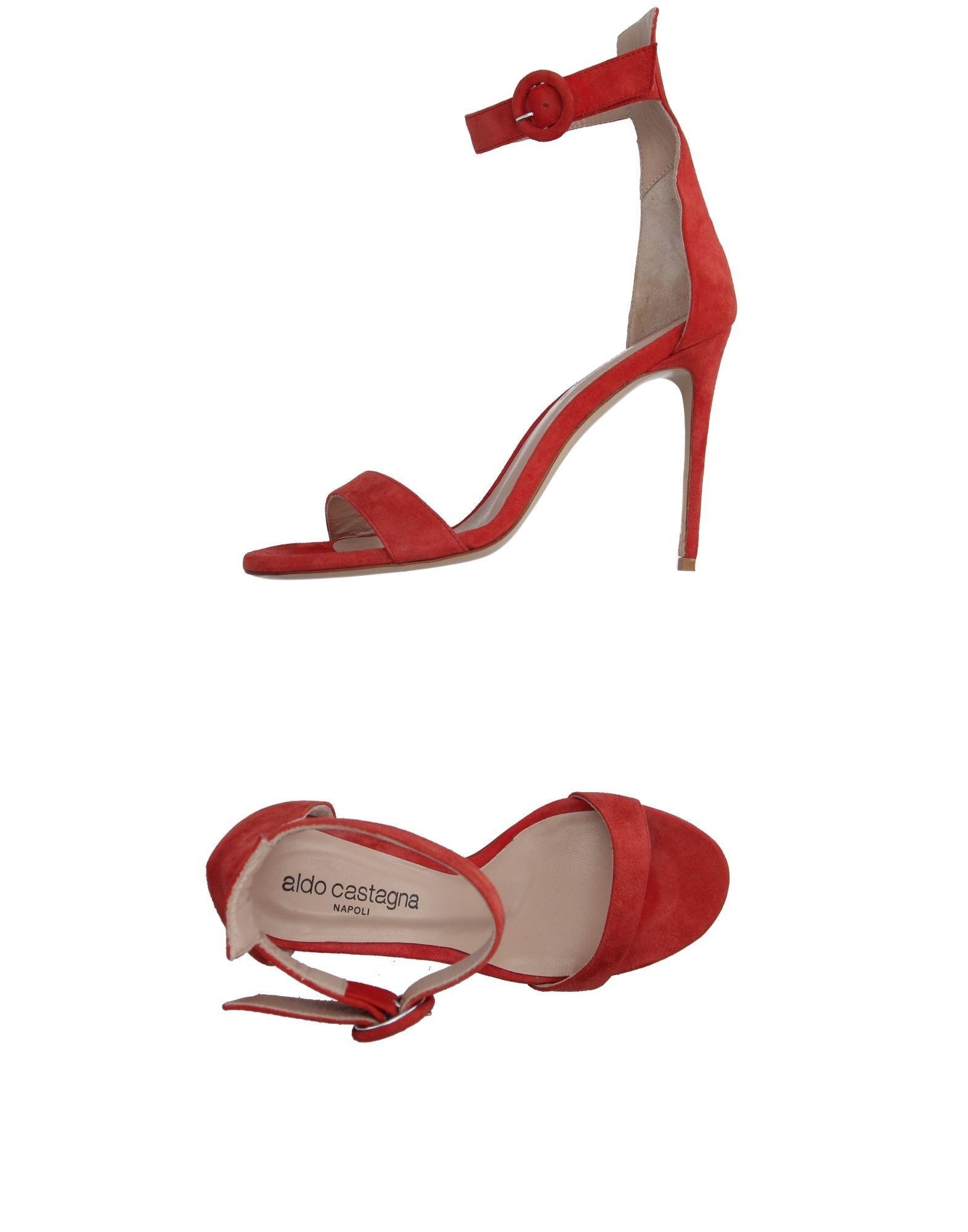 626f9fdb9c47 Aldo Castagna Sandals In Brick Red