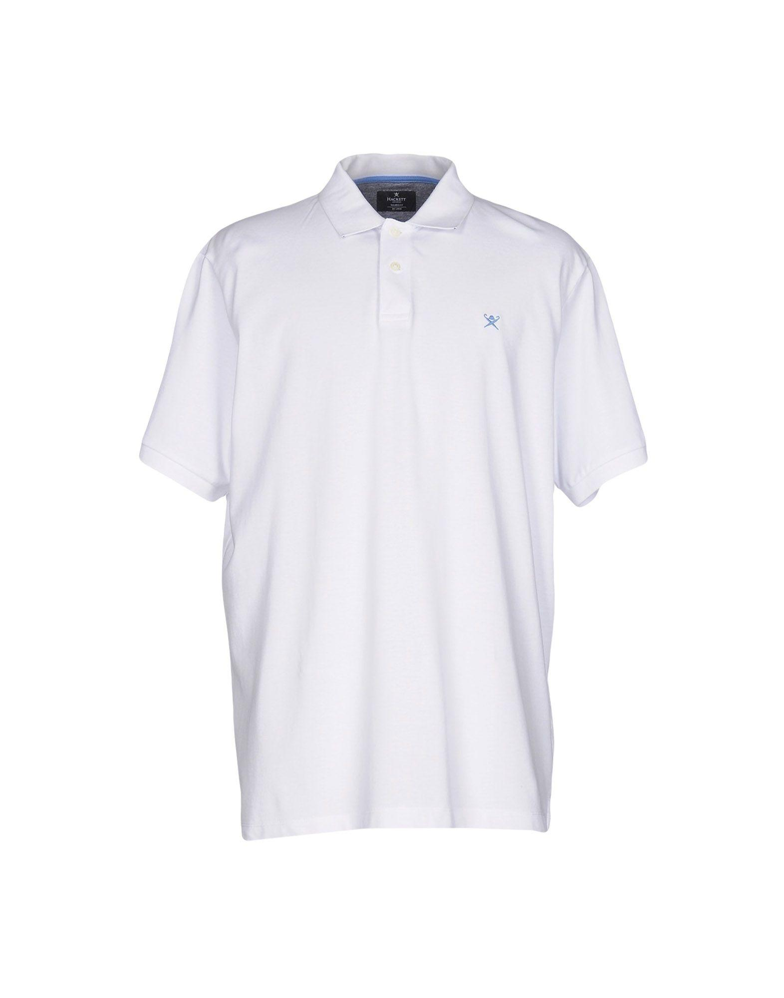 377c200210e3 Hackett Polo Shirts In White