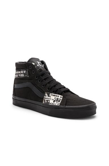 Enfants Riches Deprimes Vans Sk8-hi Ii High Top Sneakers In Black ...
