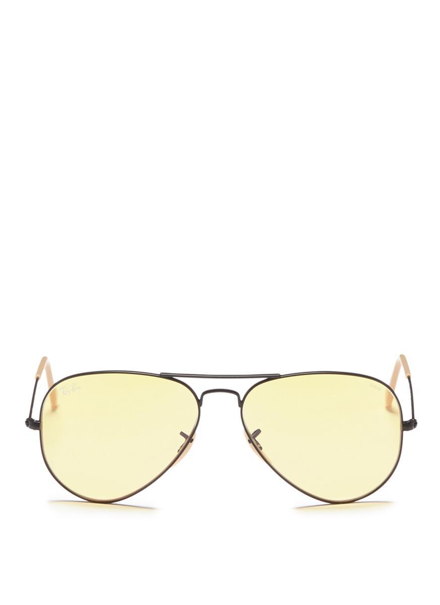 1bbf146520fde Ray Ban  Aviator Evolve  Metal Sunglasses