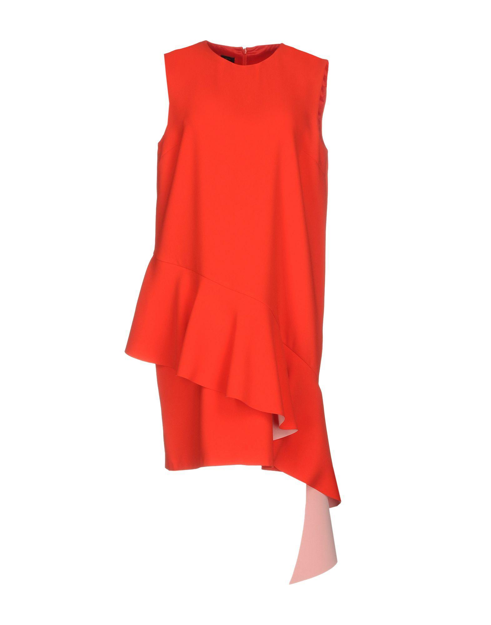 005fe9c60ef Pinko Knee-Length Dress In Red | ModeSens