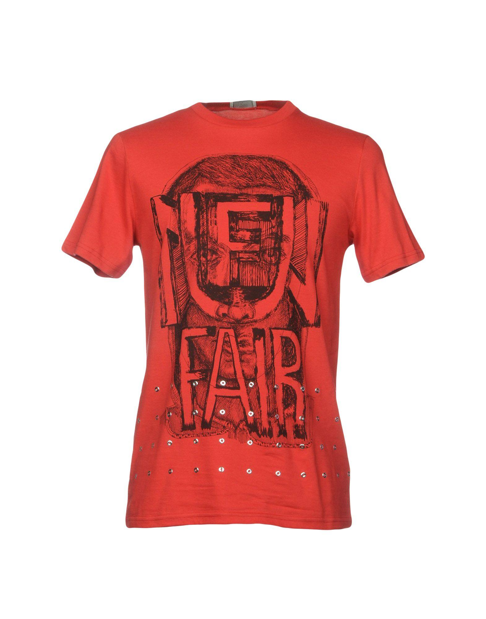 5e55cb5e Dior Homme T-Shirts In Red   ModeSens