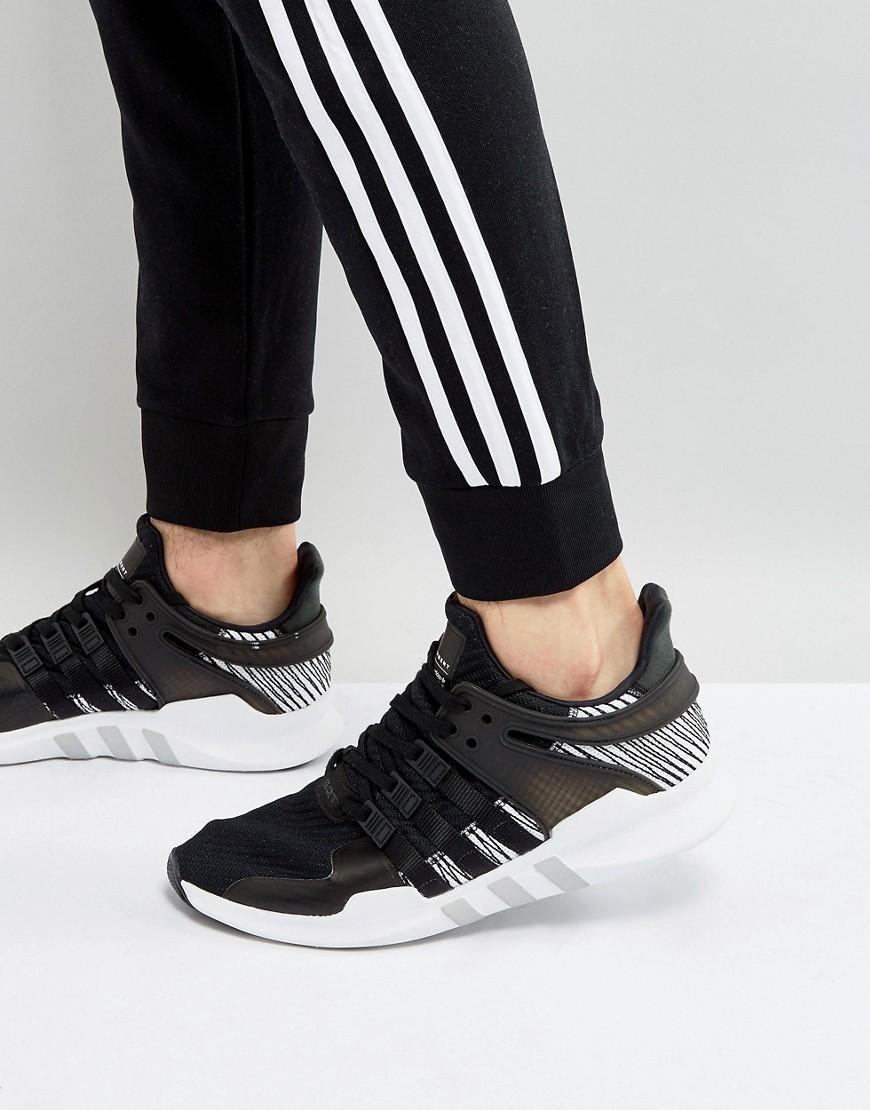 psicología comprar girar  Adidas Originals Eqt Support Adv Sneakers In Black By9585 - Black   ModeSens
