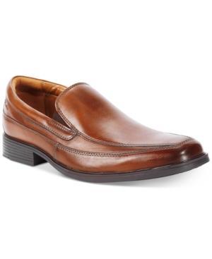 dda6914547358 Clarks Men s Tilden Free Loafer Men s Shoes In Dark Tan Leather