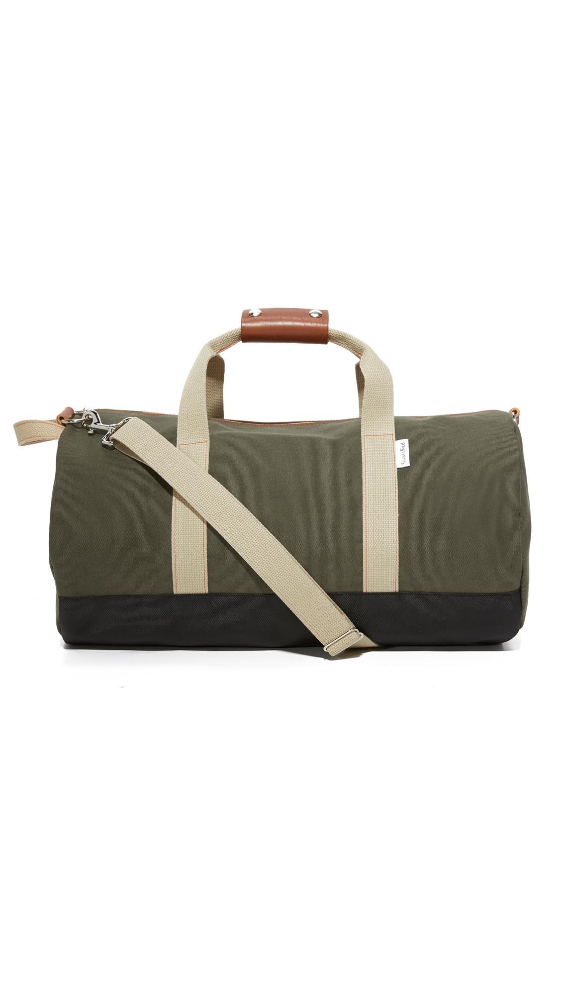 Boarding Pass Work Hard Play Hard Duffel Bag In Army  abb000bb1cb13