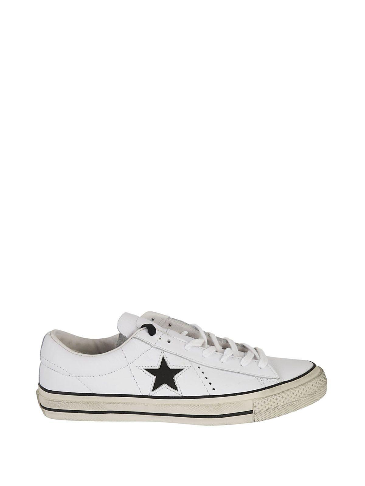 converse star bianco