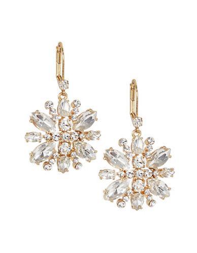 b184bb51f Kate Spade New York Crystal Snowflake Drop Earrings-Gold   ModeSens