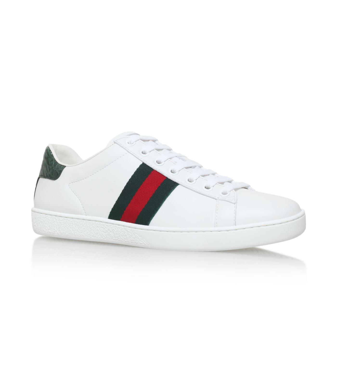 ec1d294941f96 Gucci Men s New Ace Leather Low-Top Sneakers
