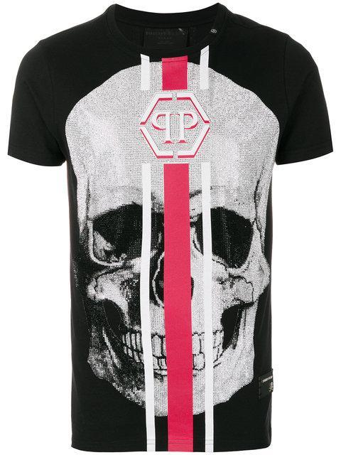 5f11e062a7c Philipp Plein T-Shirt Round Neck Ss
