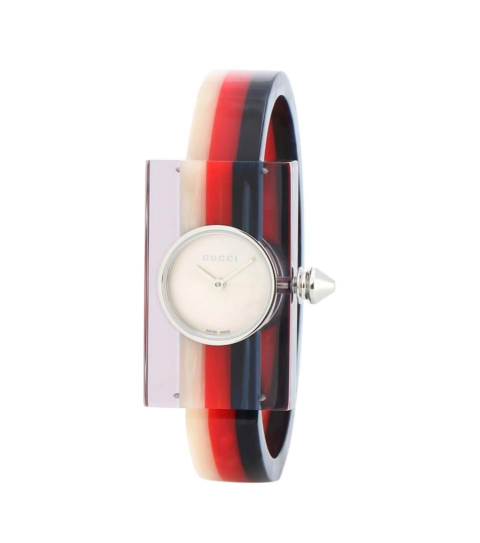 e937abf05b4 Gucci Plexiglas Bracelet Watch