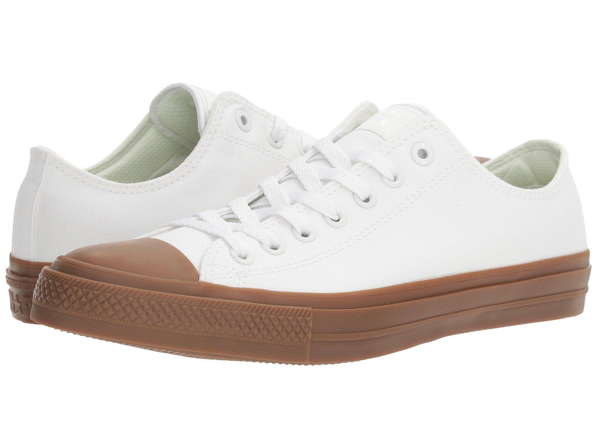 Converse Chuck Taylor® All Star® Ii Gum Ox In White/white/gum ...