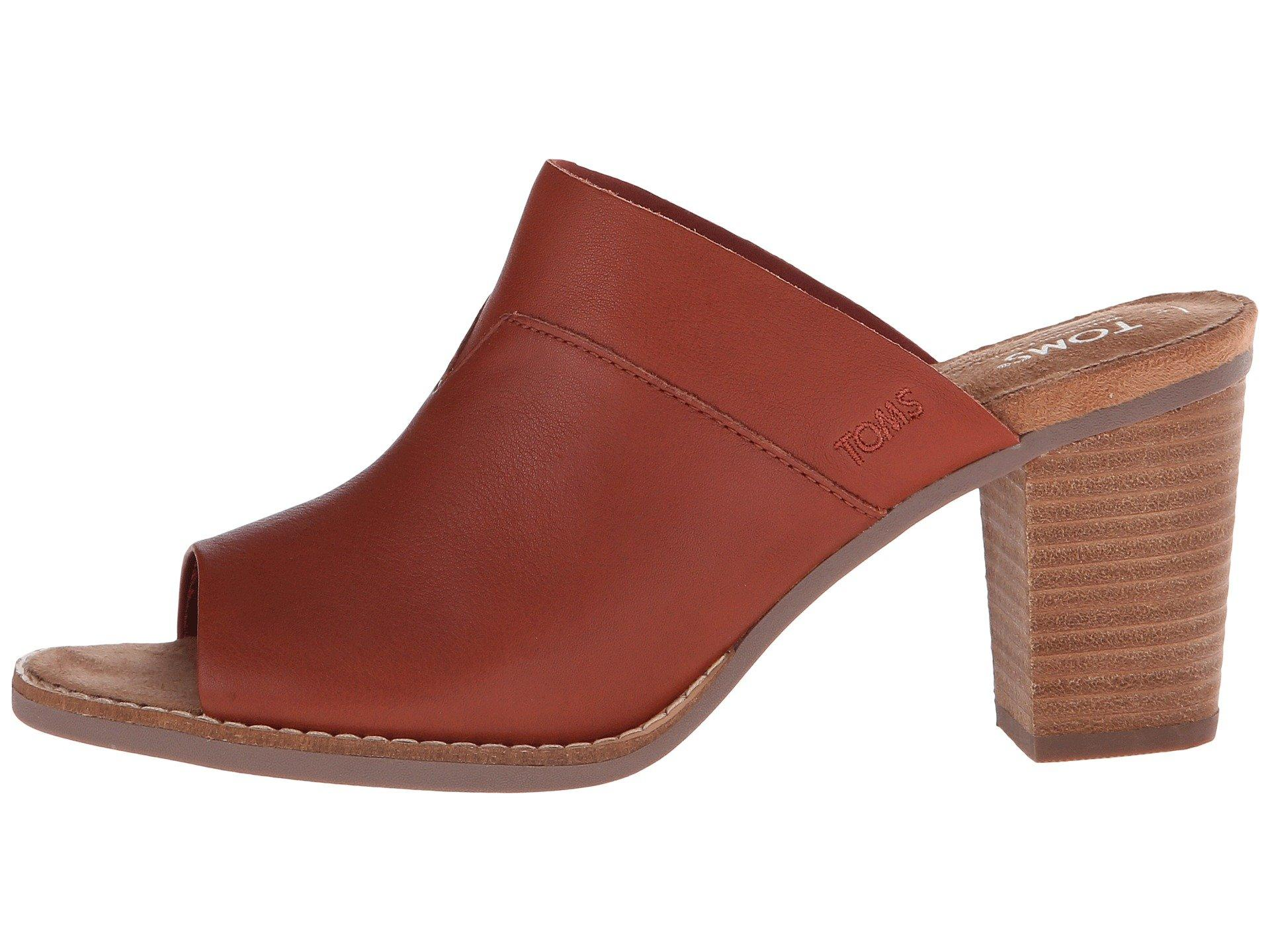 102ae6b22ed Toms  Majorca  Mule Sandal (Women) In Cognac Leather