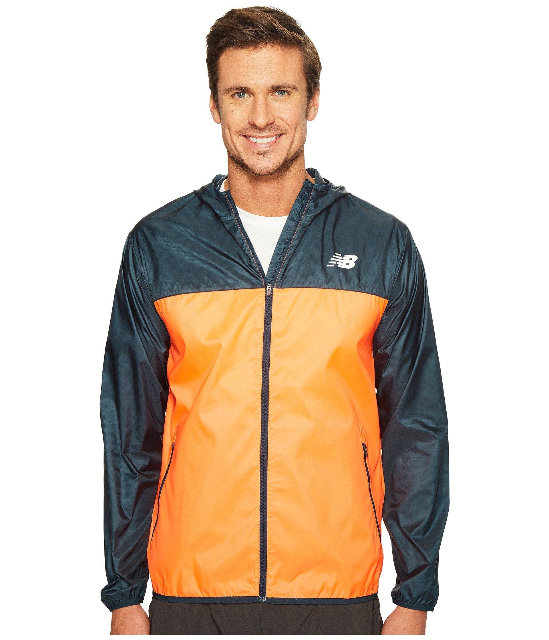 Windcheater Jacket In Alpha Orange/supercell