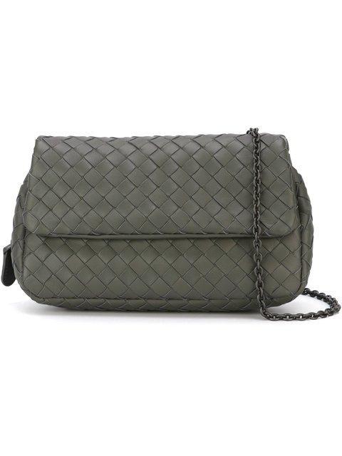 a6d6e642a6 Bottega Veneta Light Gray Intrecciato Nappa Medium Cesta Bag - Grey ...