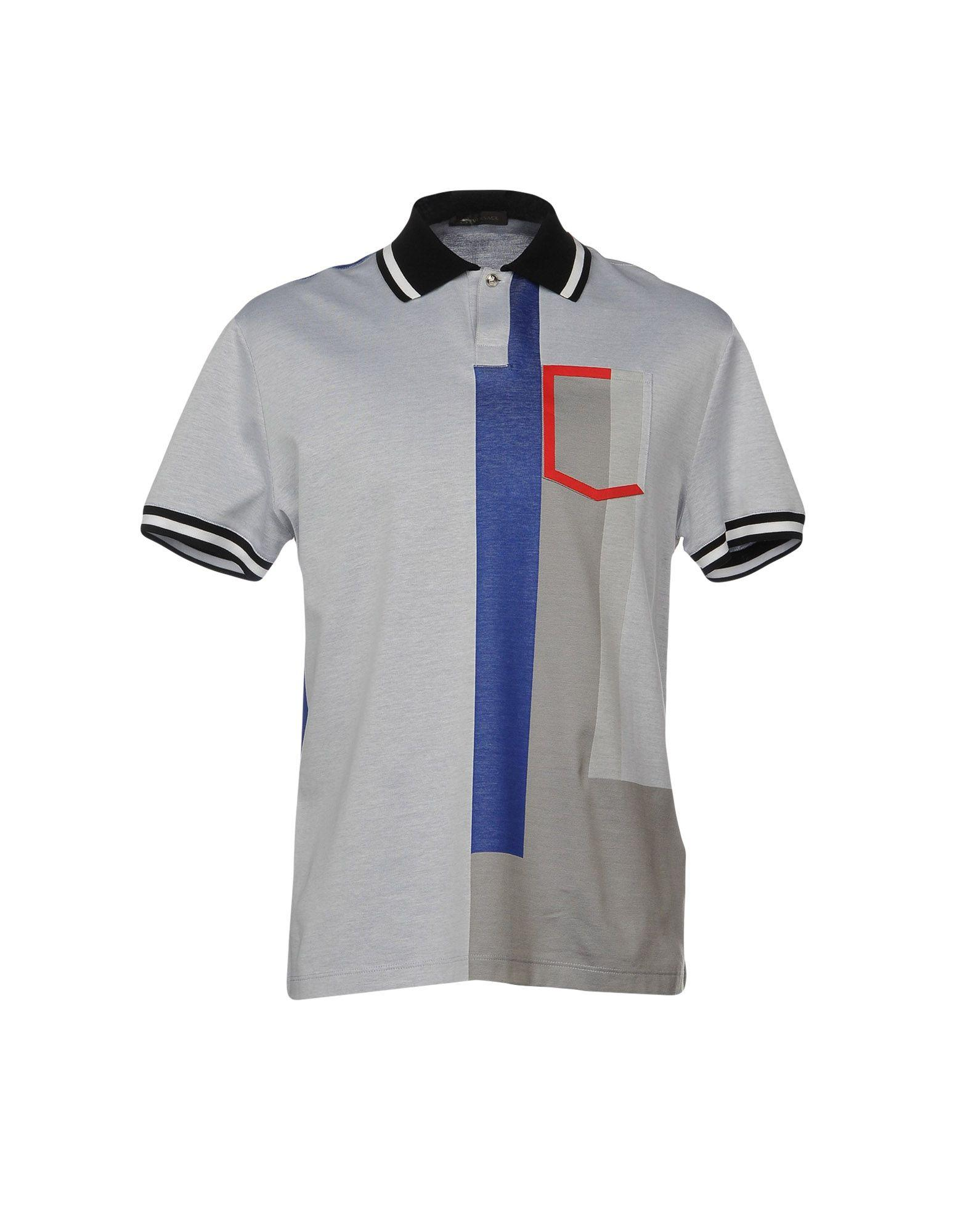 e1380a2c0 Versace Polo Shirts In Light Grey | ModeSens