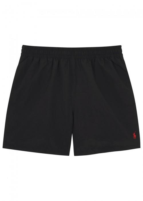 b412175927 Polo Ralph Lauren Hawaiian Black Swim Shorts | ModeSens