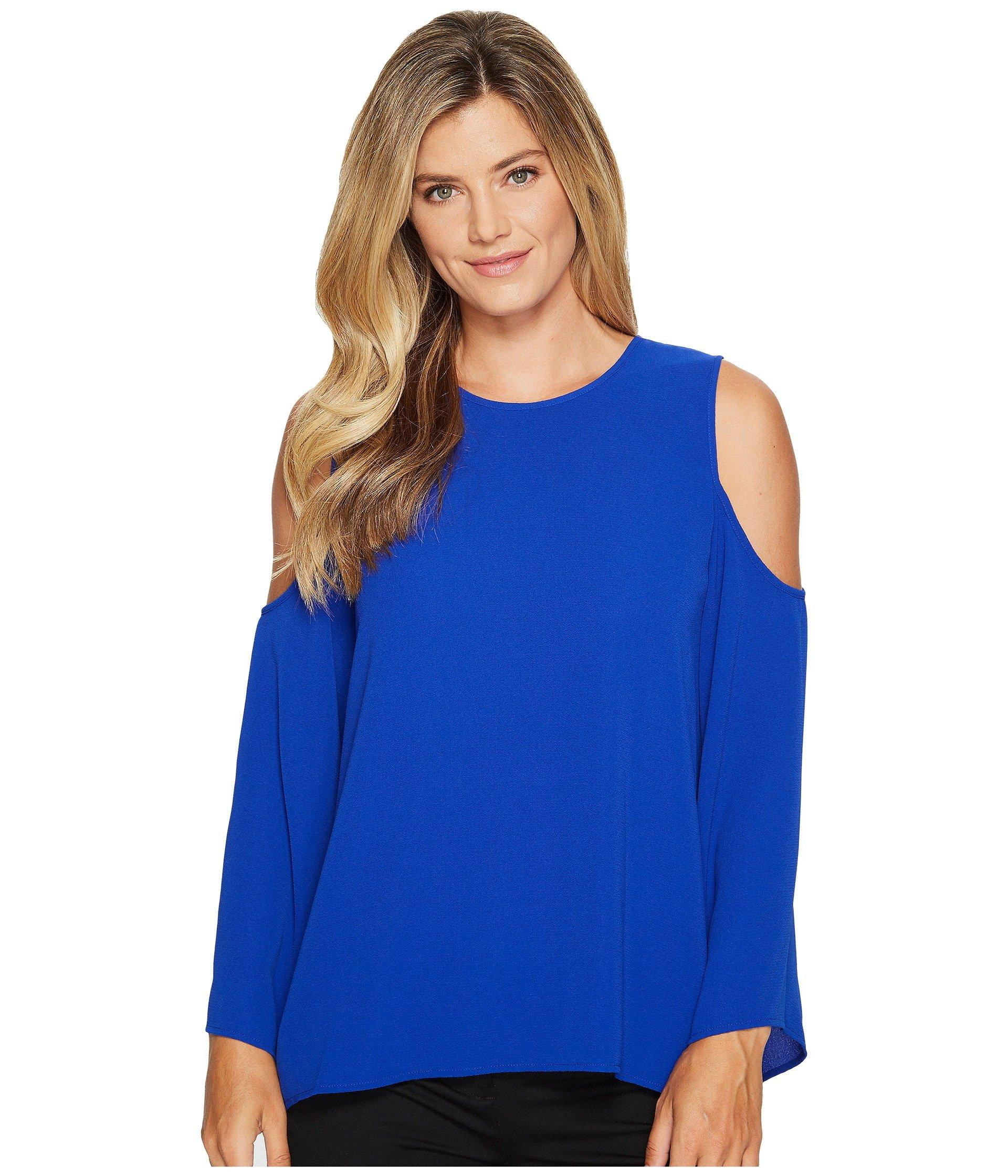 3b3e16b5abe76 Vince Camuto Bell Sleeve Cold Shoulder Blouse