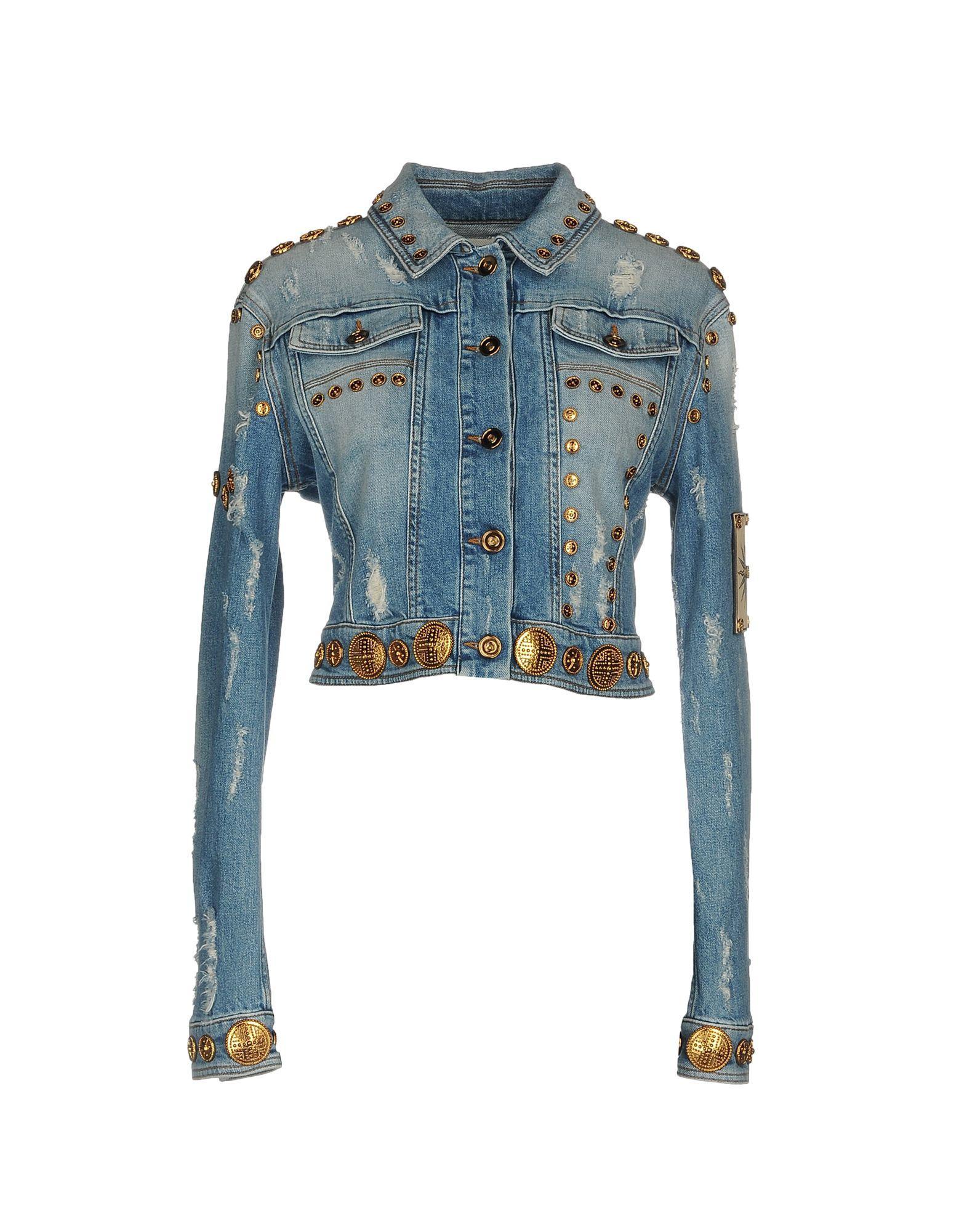 e740677db4 Fausto Puglisi Denim Outerwear In Blue