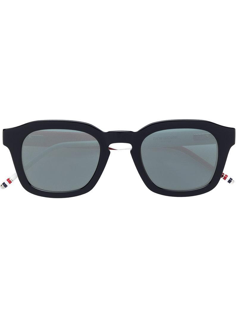 9c3b7f37fabf4 Thom Browne Eyewear Square Frame Sunglasses - Blue