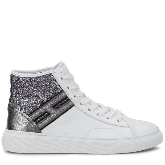 Hogan - Sneakers - H342 In Weiss/silber | ModeSens