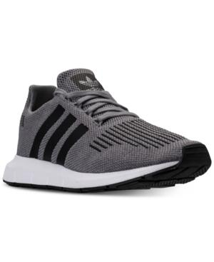67a8ec5c8bd9c Adidas Originals Adidas Men s Swift Run Casual Sneakers From Finish Line In  Grey Core Black