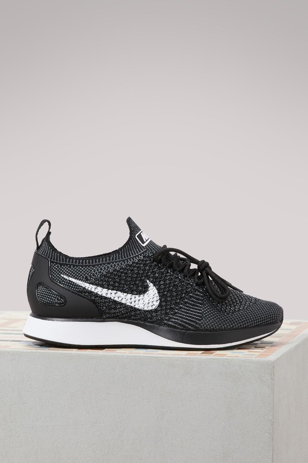47eb8bede7fa Nike Air Zoom Mariah Flyknit Racer Sneakers In Black