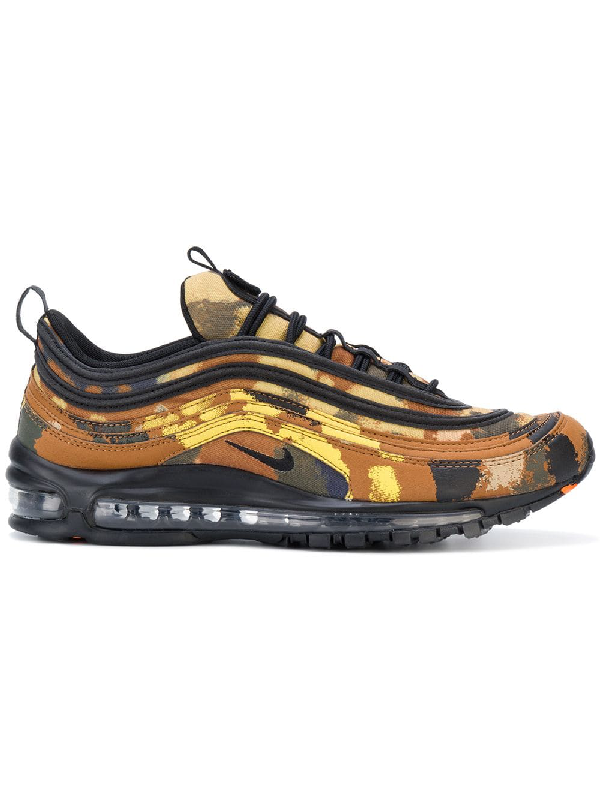 the latest e5d44 76f7f Nike Air Max 97 Camo Pack Italy Sneakers In Brown | ModeSens