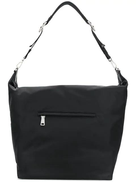 ba11ebfc3d3208 Prada Black Nylon Messenger Bag In F0002 Nero   ModeSens
