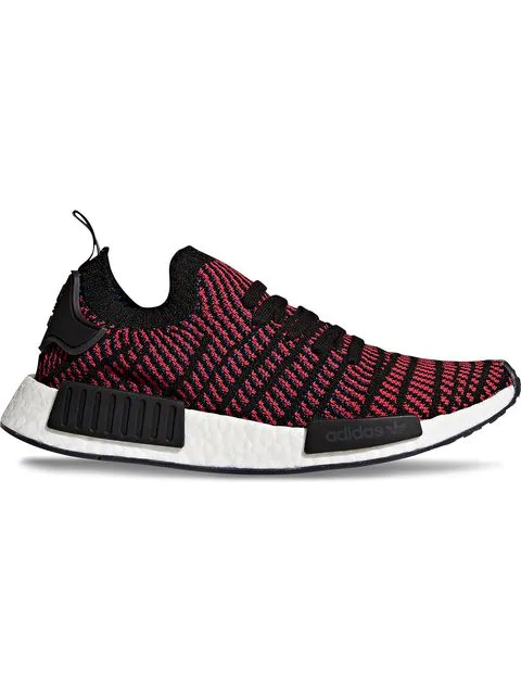 the latest 3fce2 493b2 ADIDAS ORIGINALS. Nmd R1 Stlt Primeknit Sneakers In Black ...