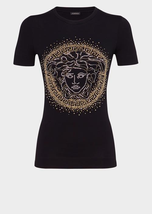 04a367af Versace Medusa Stud Slim Fit T-Shirt In Black | ModeSens