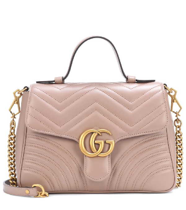 f7146d27253 Gucci Gg Marmont Small Shoulder Bag In Pink | ModeSens