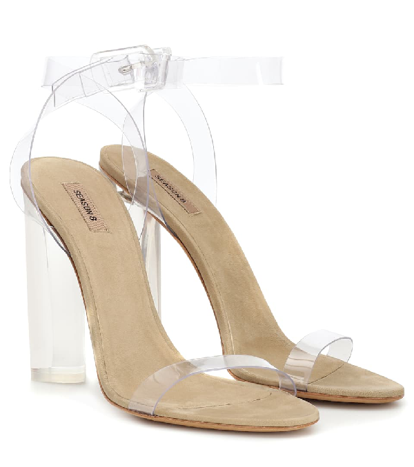 c3406625398 Yeezy Exclusive To Mytheresa – Transparent Sandals (Season 8) In Neutrals