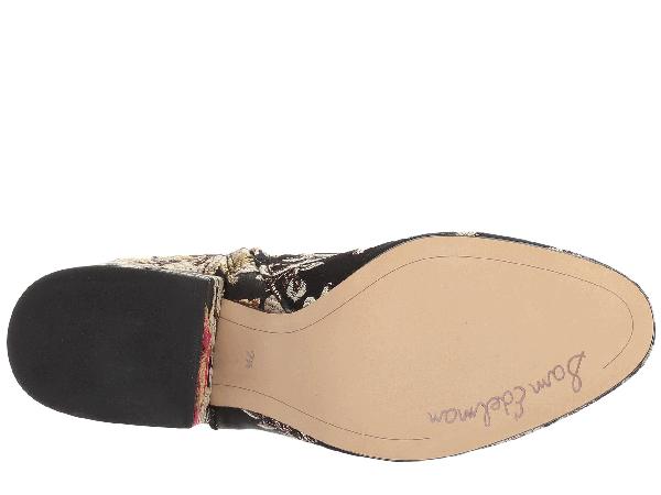 724929480e51 Sam Edelman Taye Metallic Jacquard Ankle Boot