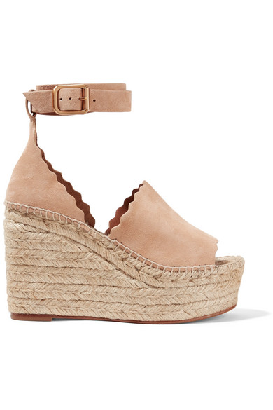 8f2377edd7b Women's Lauren Espadrille Platform Wedge Sandals in Beige